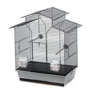 Duvo KOOI IZA 2 51x30x60,5cm grijs/zwart