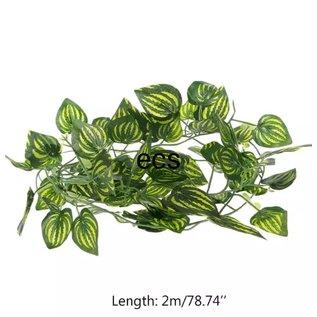 Kunstplant klimplant Oval Leaf 2 meter