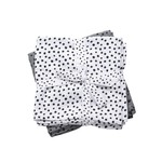 Done By Deer Done by Deer Swaddle 2-pack Happy Dots Grey