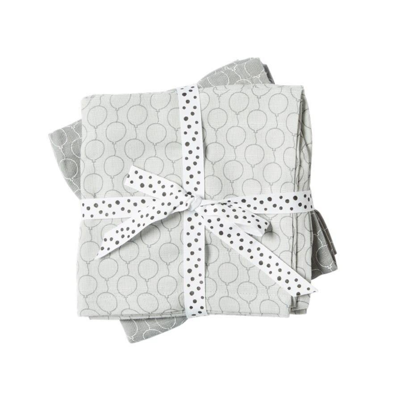 Done By Deer Done by Deer Swaddle 2-pack Balloon Grey
