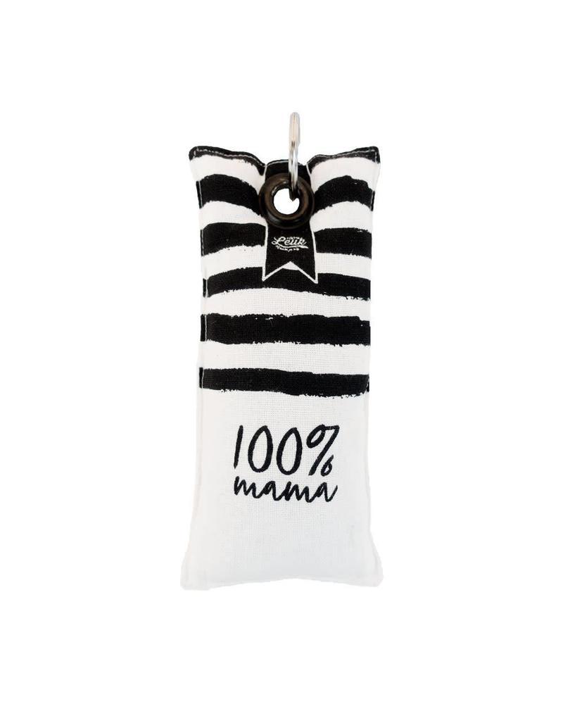 100% Leuk 100% Leuk Sleutelhanger Mama