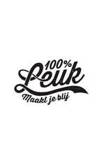 100% Leuk 100% Leuk Wenskaart Proficiat