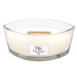 Woodwick Woodwick Linen ellipse heartwick candle