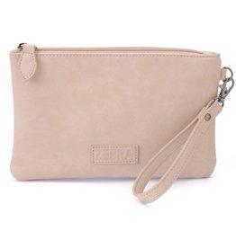 Zebra Trends Zebra Clutch Bag Soft Pink