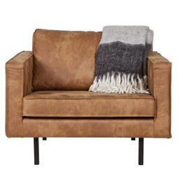 Be Pure Home Be Pure Home Rodeo fauteuil Cognac