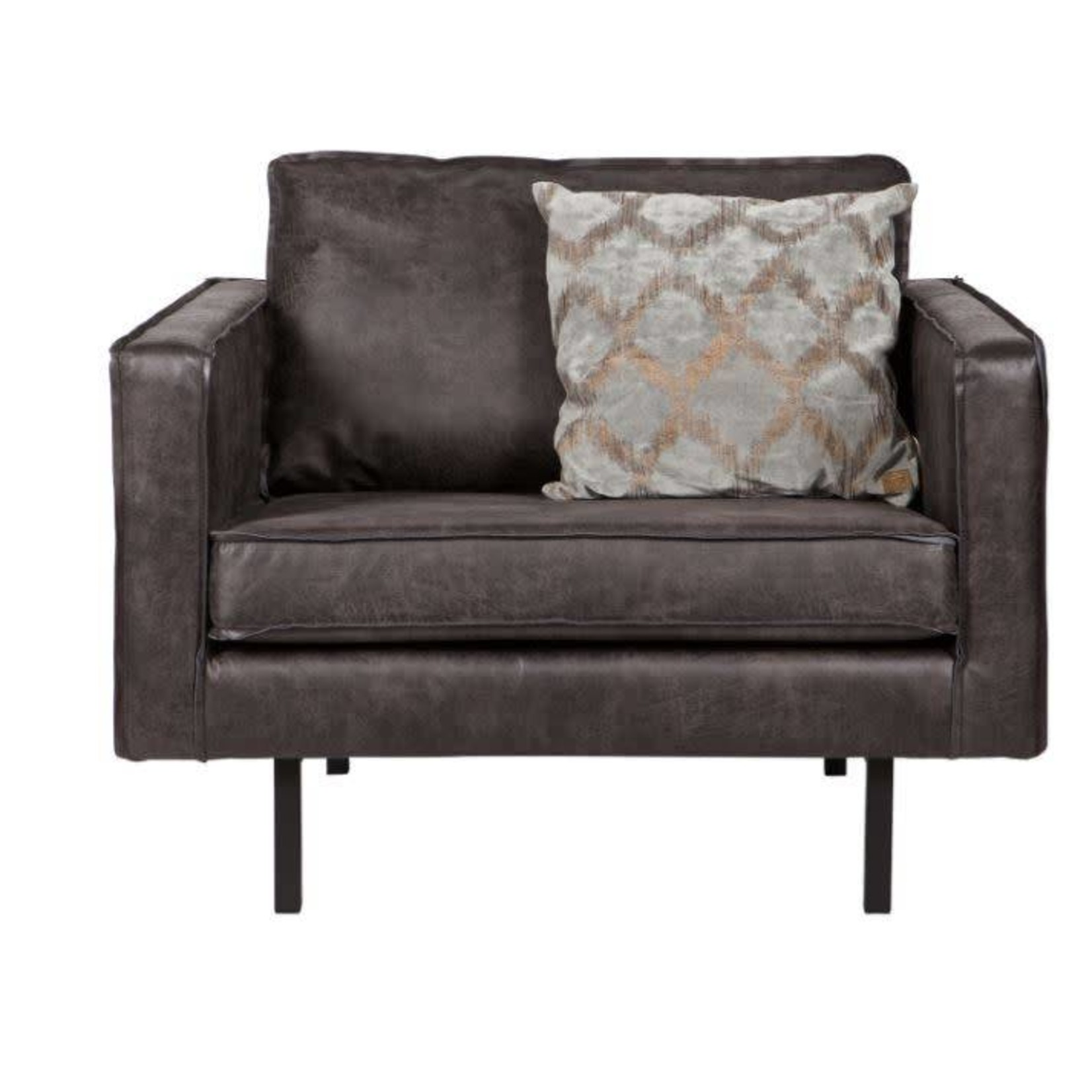 Be Pure Home Rodeo Fauteuil Zwart