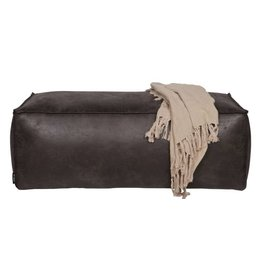 Be Pure Home Be Pure Home Rodeo poef 43x120 zwart