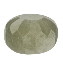 Be Pure Home Be Pure Home Boulder Poef Groen 51cm
