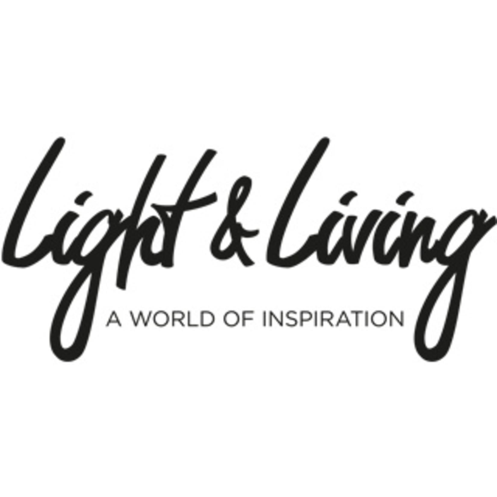 Light & Living Hanglamp Inez Creme