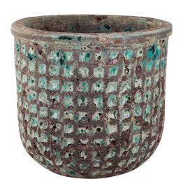 PTMD PTMD Seco green ceramic round pot M