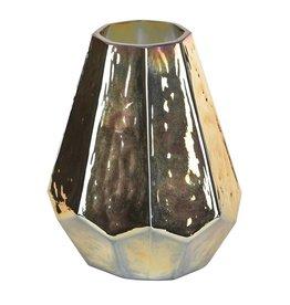 PTMD PTMD Rock Copper Glass Vase L