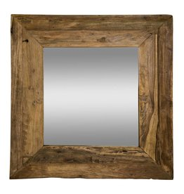 PTMD PTMD Old Teak Mirror Square
