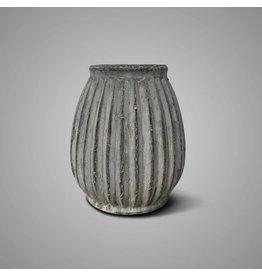 Brynxz Brynxz Vase Plisse White Wash L
