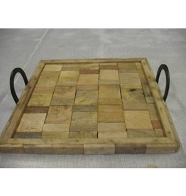 Plateau chips 40x40 cm