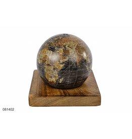Spaarpot Wereldbol 12cm