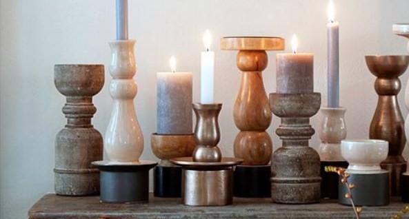 Kaarsjes In Huis : Diy kandelaars met geometrische vorm alles om van je huis je