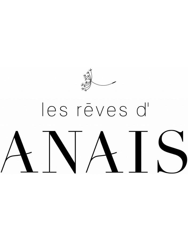 Les Reves D Anais Anais Baby Muts Blue Ribbon 0-3 Maanden