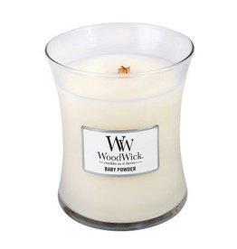 Woodwick Woodwick baby powder Medium candle