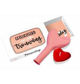 Paper Art Paper Art Greeting box Gefeliciteerd met jullie trouwdag