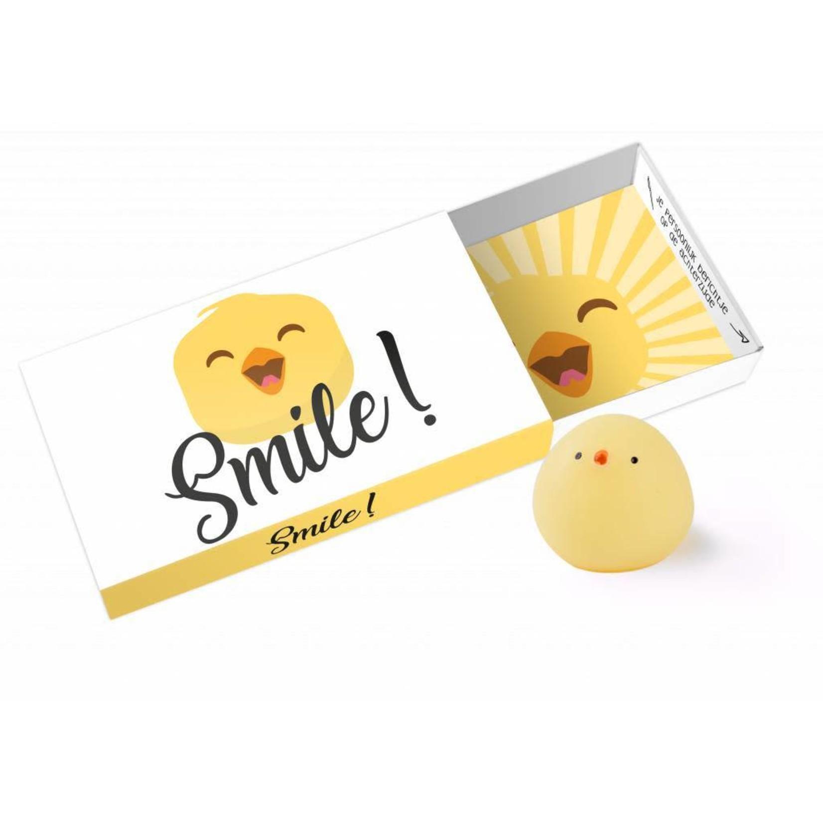Paper Art Greeting box Smile!