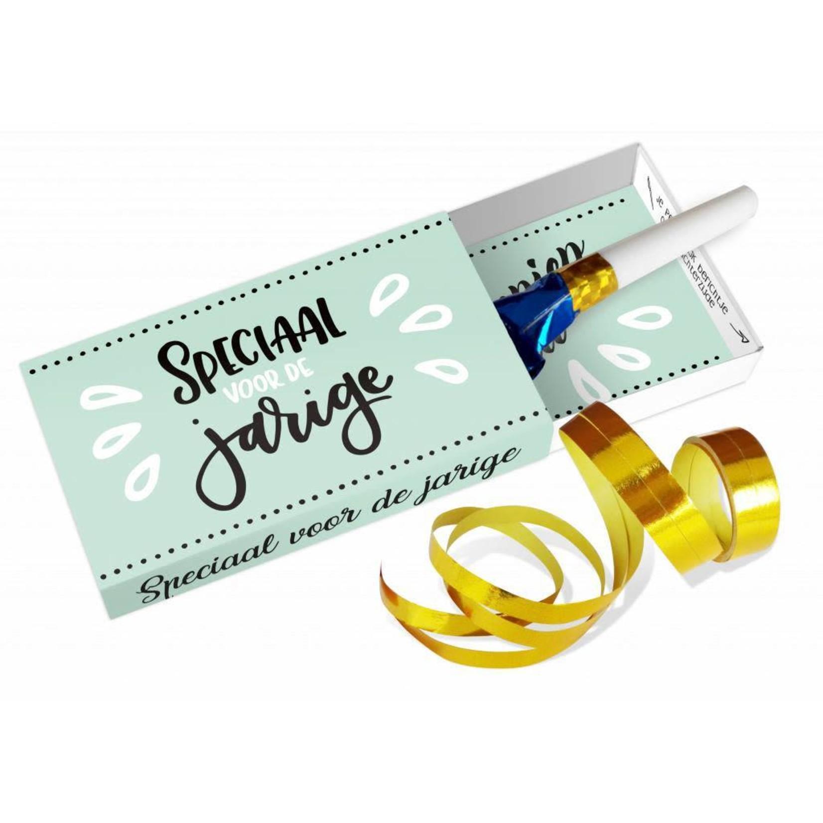 Paper Art Paper Art Greeting box Speciaal voor de jarige*