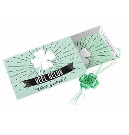 Paper Art Paper Art Greeting box Veel geluk en veel succes