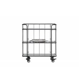 Woood Woood Caro metalen trolley laag