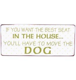 Muurplaat Move the dog