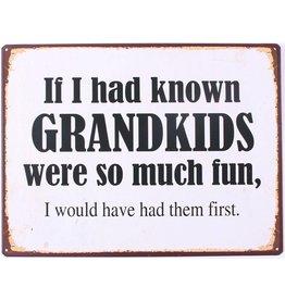 Muurplaat Grandkids