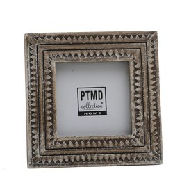 PTMD PTMD Luisa grey wooden photo frame b