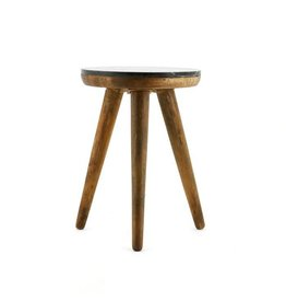 By Boo By Boo Coffeetable Trident 40 cm zwart marmer