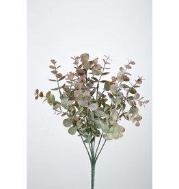 Colours and Green Eucalyptus Pick 33 cm roze