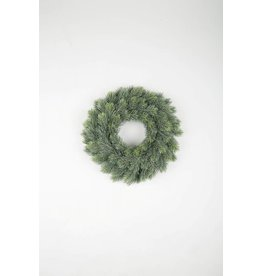 Colours and Green Pine needle wreath 31 cm