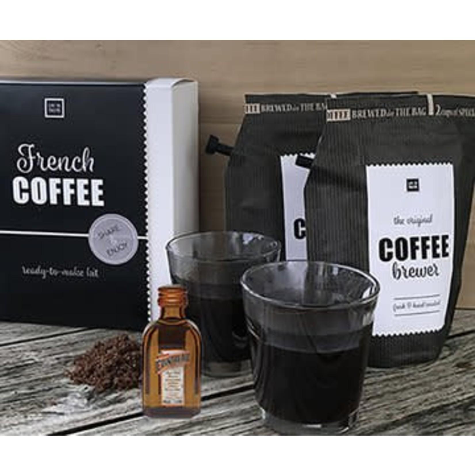 Liv 'n taste Coffee giftset   French coffee incl. glazen   Liv 'n Taste