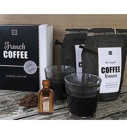 Liv 'n taste French Coffee giftset incl. 2 glazen