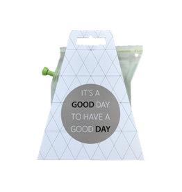 Liv 'n taste Teabrewer 'it's a good day'
