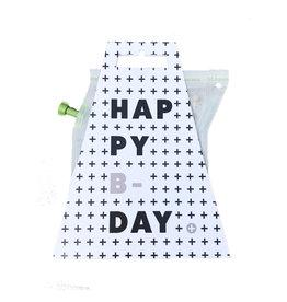 Liv 'n taste Teabrewer 'happy b-day'