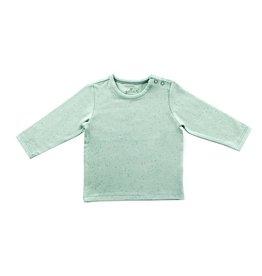 Jollein Jollein shirt lange mouw 50/56 mini dots stone green