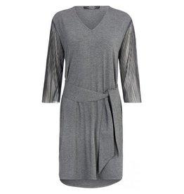 One Two Luxzuz One Two Luxzuz dress Georginas dark grey melange