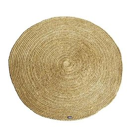 By Boo By Boo carpet jute round 120x120 yellow