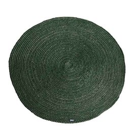 By Boo By Boo carpet jute round 120x120 cm green
