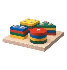 Plan Toys Plan Toys Geomatric Sorting Board