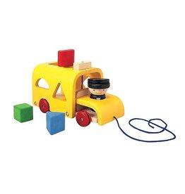 Plan Toys Plan Toys Sorting School Bus