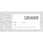 Cadeaubon webshop (online en in de winkels te gebruiken)