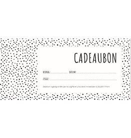 Cadeaubon webshop (online te gebruiken)