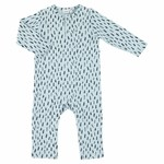 Trixie Trixie onesie lang 50/56 blue meadow