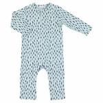 Trixie Trixie onesie lang 62/68 blue meadow