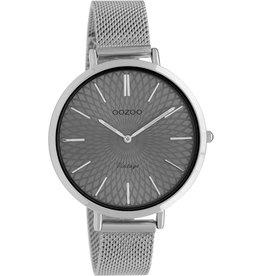 Oozoo Oozoo Horloge Grey Silver