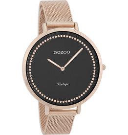 Oozoo Oozoo Horloge Rose Black
