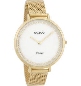 Oozoo Oozoo Horloge Gold White
